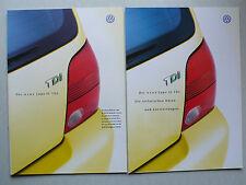 PROSPEKT VOLKSWAGEN VW il nuovo LUPO 3l TDI, 6.1999, 20 pagg. + dati/DOTAZIONE