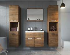 Meuble de salle de bain Montréal xl 60 cm lavabo Lefkas - Armoire de rangement M