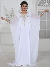 Dubai Style Farasha Kaftan Caftan Jalabiya Party Maxi Dress Top Bellydance - N30