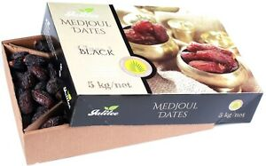 GALILEE - XXL Medjoul Jumbo Datteln ohne Zusatzstoffe - cremig & weich (5 Kg)