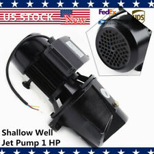 Heavy Duty Shallow Well Jet Pump 1 Hp With Pressure Switch 110v Water Jet Pump New