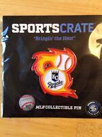 Kansas City Royals Bringing The Heat Pin - Exclusive - MLB Collectible Pin