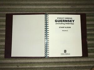 SG stamp album Guernsey 1998 - 2004 USED COMPLETE ALBUM M/S,PANES ETC + ALDERNEY