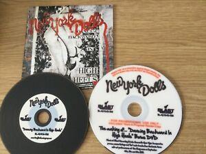 Promotional cd/dvd  album - New York Dolls – Dancing Backward In High Heels