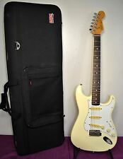 1984 - 1987 Fender Squier Stratocaster Electric Guitar Cream White MIJ Japan