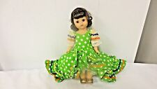 "Older Alex Madame Alexander 8"" Brazi lDoll-International Costume-Jointed Knee"