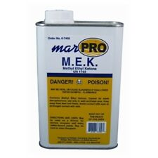 Boat Marine MEK Solvent 1 Qt Active Ketone Solvent Cleaning & Dissolving Epoxy