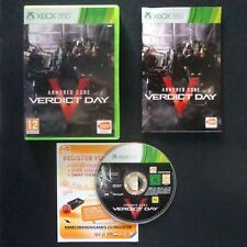 ARMORED CORE VERDICT DAY Microsoft XBOX 360 UK PAL English・♔・NAMCO FROM SOFTWARE