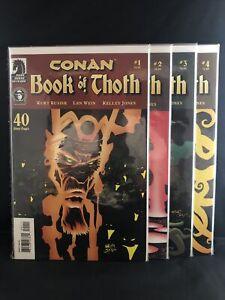 CONAN: BOOK OF THOTH #'s 1-4 COMPLETE SET 2006 DARK HORSE COMICS