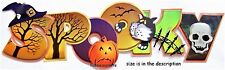 EK SUCCESS JOLEE'S BOUTIQUE 3-D STICKERS  CAT PUMPKIN BATS WITCHES HAT -  SPOOKY