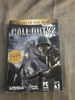 CALL OF DUTY 2 Game of the Year 2005 New & Sealed PC CD-ROM
