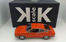 AUDI 100 Coupe S 1970 Modellauto 1:18 Orange KK-Scale KKRE180003 Neuware Limited