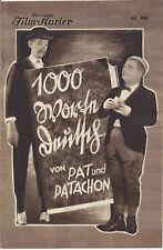 IFK: 166 : 1000 Worte Deutsch, Pat & Patachon, Carl Schenstroem, Harald Madsen,