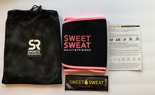 Sweet Sweat Waist Trimmer Belt Size MEDIUM Unisex Pink & Black - NEW!