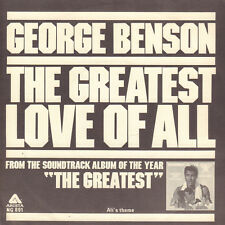 "GEORGE BENSON ‎– The Greatest Love Of All (1977 OST SOUL SINGLE 7"" HOLLAND)"