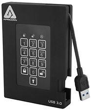 Apricorn Aegis Padlock Fortress 2 Tb External Hard Drive - Usb - Portable
