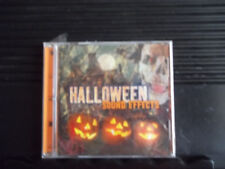 NEW HALLOWEEN SOUND EFFECTS CD FREE SHIPPING!