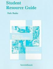 Pearson Custom Mathematics: Student Resource Guide for Excursions in Modern...