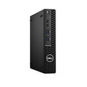 Dell OptiPlex 3080Micro PC (465GB SSD, Intel Core i3, 4GB RAM) New