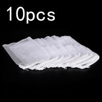 10pcs Filter Media Bag Reusable Aquarium Fish Tank Pond Net Mesh Bag 20x15cm G9Z