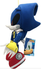 "GENUINE Great Eastern GE-52523 Sonic The Hedgehog 11"" Metal Sonic Stuffed Plush"