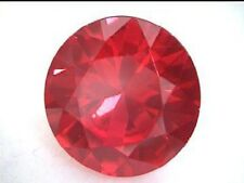 7.5 mm 2.25 cts Round Brilliant Cut Lab Created Ruby