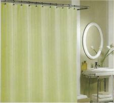 """ALLEN + ROTH TOWNSEND Fabric Shower Curtain Stripe SAGE GREEN 70"""" x 72"""""""