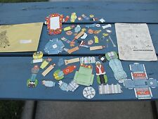 Howdy Doody 1958 Unused Match & Mix Kit Toy Paper Dolls W/ Envelope Instructions