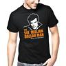 The Six Million Dollar Man Serie 80er Kult Fan Fanshirt Geschenk Retro T-Shirt