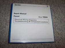 1999 VW Volkswagen Passat Electrical Wiring Diagrams Troubleshooting Manual