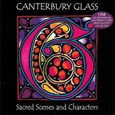 CD ROCK PROGRESSIF CANTERBURY GLASS + STEVE HACKETT SACRED SCENES AND CHARACTERS