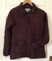 Regatta Great Outdoors Womens quilted jacket brown Size UK 8 EUR 34 FR 36 140cm