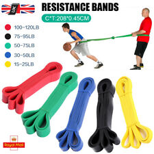 Resistance Bands Pull Up Heavy Duty Set Assisted Exercise Home Gym Fitness Latex