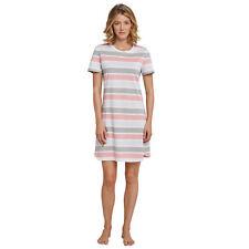 SCHIESSER Damen Nachthemd 90cm 1/2 Arm Jersey Garden Eden Gr 44 / 2XL