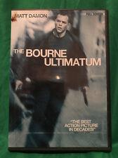 The Bourne Ultimatum (DVD, 2007, Full Frame)