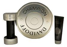 CHAMPION BY DAVIDOFF GIFT SET WITH EAU DE TOILETTE NATURAL SPRAY 50ML NIB