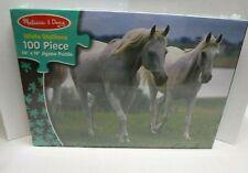Melissa & Doug White Stallions Horse Puzzle