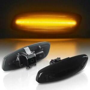LED Indicators Black Suitable for Peugeot 207, 308, 408, 3008, 5008 [7608-1]