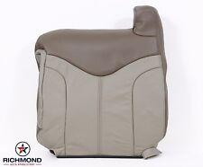 2001 GMC Sierra C3 Denali 4X4 AWD -Driver Side Lean Back Leather Seat Cover Tan