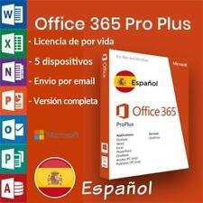 Microsoft Office 365 2016/2019/ Licencia A Vida / 5 dispositivi / 5TB