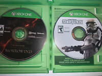 Xbox One Game Lot : Star Wars Battlefront, Elder Scrolls Morrowind Online