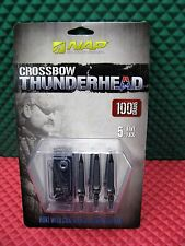 "NAP Crossbow Thunderhead 1-3/16"" Cutting Dia. 5-Pk 100 Grains Broadheads  60-694"