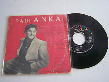 EP 45 T 4 TITRES VINYL , PAUL ANKA ,DIANA . VEGA 45.90.831 .