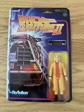 "Super7 Back to the Future 2 Future Doc Brown ReAction 3.75"" Action Figure"