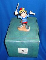 Disney WDCC 1993 Mickey Mouse Brave Little Tailor Figure MIB
