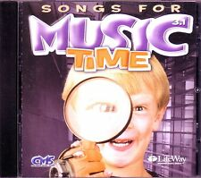 Songs For Music Time LIFE WAY CD Classic Childrens Christian JESUS I LOVE YOU