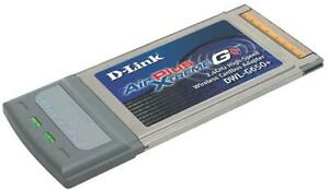 Scheda PCMCIA WI-FI D-Link AirPlus Xtreme G+ Wireless Cardbus Adapter, DWL-G650+