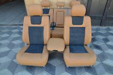seat covers Toyota Land Cruiser 100 luxury premium Leather Interior personal