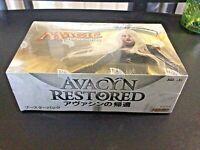JAPANESE Factory Sealed Magic the Gathering MTG Avacyn Restored Booster Box