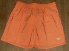 934c3a9ff0 Speedo Solid Leisure Mens Orange Swim Short Size UK Large 36
